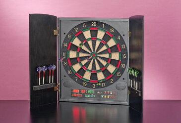 【ダーツ】 WOODY-26PLUS(AAA) 【訳あり品:扉一部に木目めくれ】【ダーツ】ボード ソフト【ダーツ】セット 電子【ダーツ】 -無地箱 darts[【ダーツ】練習にも最適]【プレゼント ギフト】