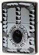 ZIPPO zippo ライター オニキス天然石 (ジッポ) ライター メタル 彫刻 人気のネイティブメタル NM3-BKON(ジッポライター インナー刻印可)【zippo ギフト】【zippo プレゼント】【プレゼント ギフト】