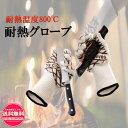 耐熱グローブ 2枚セット (耐熱温度800℃) 耐火グローブ