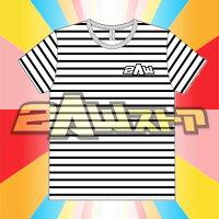 2AWボーダーTシャツ