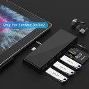 Surface Go Dock 3つのUSB3.0ポト5Gps、オディオ、SD  TFMicro SDカドリダコンボを備えたSurface Go  Go2ハブド