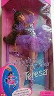 バレリーナバービー人形Barbie1995TwiringBrbieTeresa回転バレリーナバービーバレエ雑貨バレリーナ人形バレエ雑貨