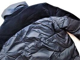 "G-STARRAW[ジースター]【DENIMMIXQUILTEDPUFFERJACKET】""NAMICLITERECYCLEDWATERREPELLANT""デニムミックス""パテッド""ジャケット★MAZARINEBLUE★"