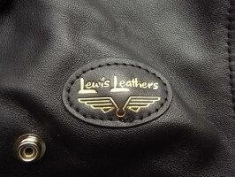 "LewisLeathers(ルイスレザース)COWHIDELEATHER【No.441TFCYCLONEJACKET】""TightFit""DoubleRider'sJacket★★COWBLACK★"