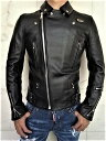 """Lewis Leathers(ルイス レザース)COW HIDE LEATHER【No.391TF LIGHTNING JACKET】""""Tight Fit""""Double Rider's Jacket★★COW BLACK★"""