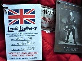 """LewisLeathers(ルイスレザース)COWHIDELEATHER【No.391TFLIGHTNINGJACKET】""""TightFit""""DoubleRider'sJacket★★COWBLACK★"""