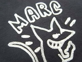 "MARCJACOBS(マークジェイコブス)【KEITHHEALINGSTYLEEMBROIDERY】""SLIMFIT""ショートスリーブTee★BLACK★"