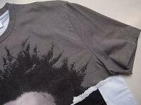 "NeILBarreTT(ニールバレット)【CREWNECKMARCUSBRVTVSBASQUIATT-SHIRT】""HYBRIDPRINT.26-AFROONMARBLE""コラージュハイブリットプリントクルーネックショートスリーブTee☆"