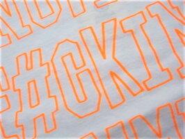 "FRANKLIN&MARSHALLフランクリン&マーシャル【T-SHIRTJERSEYROUNDNECKSHORT】""ANOTHERF#CKIN'SUMMER""クルーネックショートスリーブTee☆WHITE☆"