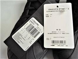 """adidasY-3(ワイ−スリー)【Y-3YOHJIPRO】""""YohjiYamamotoシグネイチャープリント""""YOHJIPRO★BLACK/FTWRWHITE/BLACK★"""