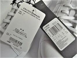 adidasY-3(ワイ−スリー)【Y-3HICHO】ローカットスニーカー☆COREWHITE/COREWHITE/BLACK☆