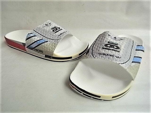 サンダル, スポーツサンダル adidas by RAF SIMONS LIMITED EDITIONRS MICRO ADILETTERAF SIMONSADILETTESIVER METREDRED