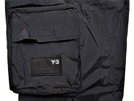 "adidasSTYLEY-3(ワイ−スリー)【Y-3SHELLTRACKPANTS】""スリーストライプス""ナイロントラックカーゴパンツ★BLACK★"