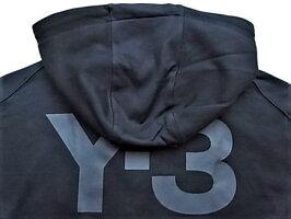 "adidasY-3(ワイ−スリー)【Y-3UCLASSICF-ZIPHOODIE】""Y-3""ジップアップフーデットスウェット★BLACK★"