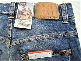 "NudieJeans(ヌーディージーンズ)【THINFINN】""LOWYOKETHINSKINNYLEGS""""AUTHENTICREPAIR""ストレッチ混スリムスキニーJeans★"