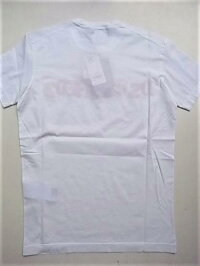 """DSQUARED2(ディースクエアード)【DSQUARED2】NEGATIVEDYED""""COOLFIT""""ショートスリーブTee☆WHITE☆"""