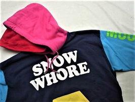 """DSQUARED2(ディースクエアード)【SNOWWHORE】""""SLOUCHFIT""""""""オーバーサイジング""""HOODEDSWEATSHIRT☆MULTICOLOR★"""