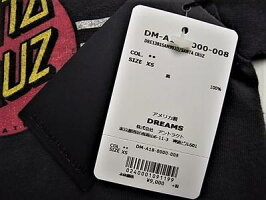 "DREAMS(ドリームス)【SANTSCRUZ】""VINTAGEWASH""ショートスリーブTee★"