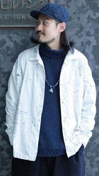 PORTERCLASSIC(ポータークラシック)【ALOHA】ALOHALONGSHIRTDJANGO☆WHITE☆