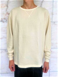 PORTERCLASSIC(ポータークラシック)【FRENCHTHERMALCREWNECK】☆☆OFFWHITE☆☆
