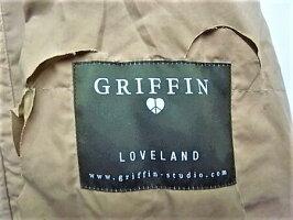 "GRIFFIN(グリフィン)【BLADECUTJACKET】""パラフィン加工""ブレードカットジャケット☆SAND☆"