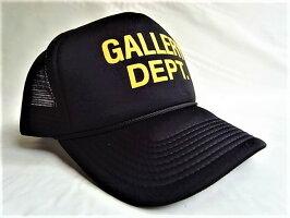 GALLERYDEPT.(ギャラリーデプト)【GALLERYDEPT.TRUCKERCAP】メッシュCAP★BLACK★