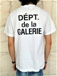 "GALLERYDEPT.(ギャラリーデプト)【FRENCHLOGOT-SHIRT】ギャラリーデプト""フレンチロゴ""Tee☆WASHEDWHITE☆"