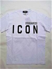 "DSQUARED2(ディースクエアード)【ICONDSQUARED2T-SHIRT】""COOLFIT""""ICON""ショートスリーブティーシャツ☆WHITE☆"