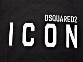 "DSQUARED2(ディースクエアード)【ICONDSQUARED2T-SHIRT】""COOLFIT""""ICON""ショートスリーブティーシャツ★BLACK★"
