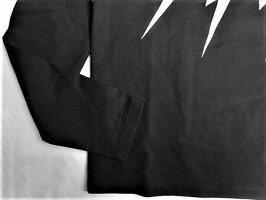 """NeILBarreTT(ニールバレット)【FAIRISLETHUNDERBOLTPRINTL/ST-SHIRT】""""SLIMREGULARFIT""""""""サンダーボルト""""プリントロングスリーブTee★BLACK★"""