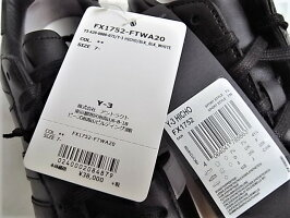 adidasY-3(ワイ−スリー)【Y-3HICHO】ローカットスニーカー★BLACK/BLACK/COREWHITE☆
