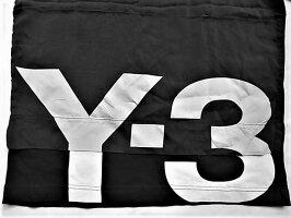 """adidasY-3(ワイ−スリー)【Y-3MCH3GFXTEE】キュプラオーバーレイ""""Y-3""""ロゴティー★BLACK★"""