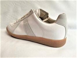 MaisonMargiela(メゾンマルジェラ)【ReplicaSneakers】ジャーマントレーナー☆WHITE×LIGHTGRAY☆
