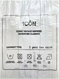 MaisonMargiela(メゾンマルジェラ)【1CÔN3-packT-shirts】3パックTシャツ☆WHITE-CREAM-IVORY☆