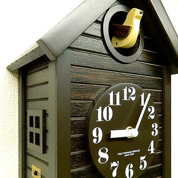 手づくり振り子ハト時計アンティーク694AN-QL日本製