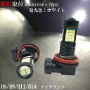 フーガ Y51 H21.11〜 LEDフォグランプ H8 36発 プロジェクタ...
