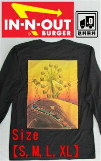 新品未使用USAアメリカTシャツ長袖ロンTビンテージヴィンテージデッドストックIN-N-OUTBURGER