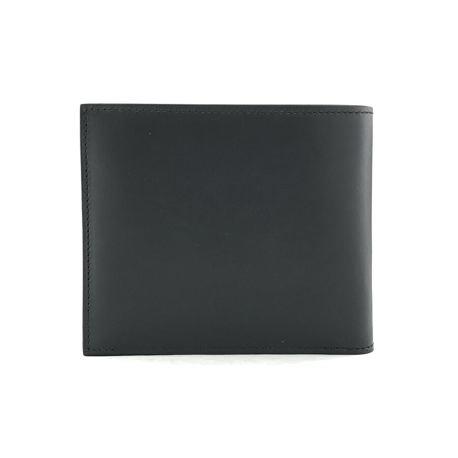 ジバンシィ GIVENCHY 財布 二つ折り 札入れ コントラストスター レザー ブラック メンズ C.SLG-BILLFOLD BK06021772 004