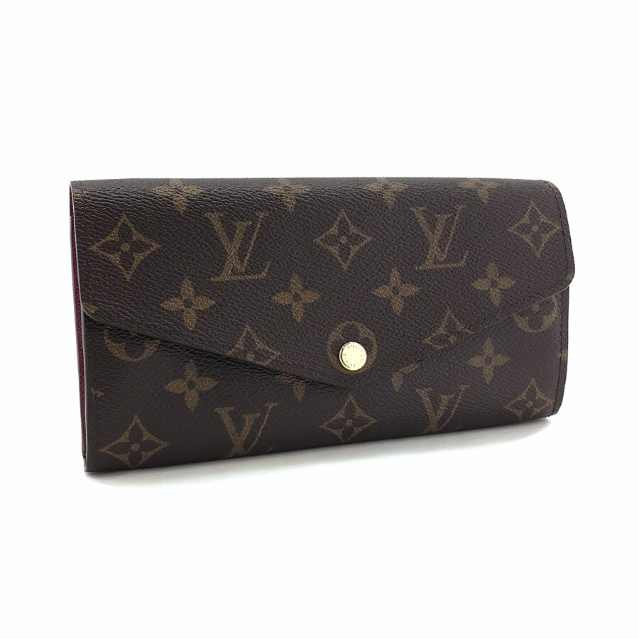 cheap for discount 0344d 3e1bf ルイヴィトン LOUIS VUITTON 長財布 フラップ ポルトフォイユ ...