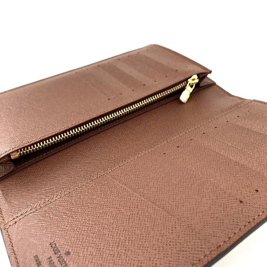 ルイヴィトン 長財布 LOUIS VUITTON 二つ折り ポルトフォイユ ブラザ モノグラム N63070