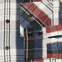 HVS-29-BULLTRICO-HVS29-DELUXEWARE-デラックスウエアヘビーネルシャツ-チェックシャツ-シャツ長袖【送料無料】【smtb-tk】【楽ギフ_包装】