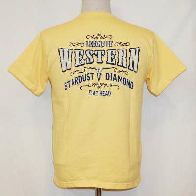 トップス, Tシャツ・カットソー THC-148W--LEGEND OF WESTERN-THC148W-FLATHEAD-Tsm tb-tk