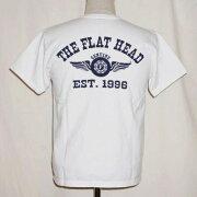 ホワイト フラット Tシャツ