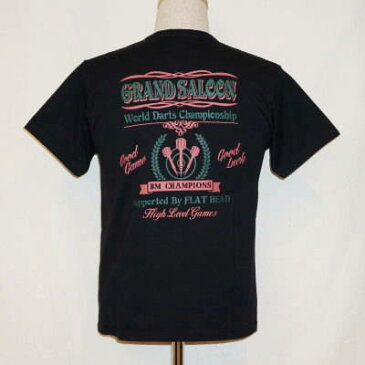TN-11W-ブラック-GRAND SALOON-TN11W-FLATHEAD-フラットヘッドTシャツ-BLACKMINT-ブラックミントTシャツ【送料無料】【smtb-tk】【楽ギフ_包装】
