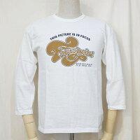 F-TKTF-002-WH-フットボールTシャツ・七分袖Tシャツ002-FTKTF002-七分袖Tシャツ【送料無料】【smtb-tk】【楽ギフ_包装】