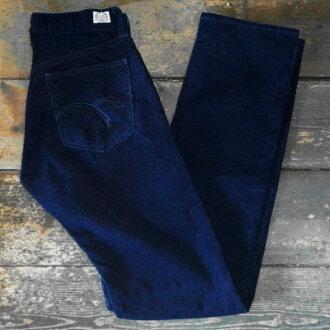 CDP-02W-靛藍靛藍燈芯絨褲 02 W 的 CDP 02W 平板鯔魚頭燈芯絨褲-GLORYPARK-格洛麗亞公園燈芯絨褲子