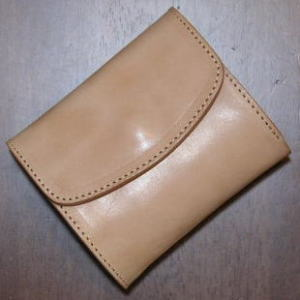 PM-01 - プレーンウォレット-PM01-REDMOON-レッドムーンハーフウォレット (short wallet: 2 fold wallet)
