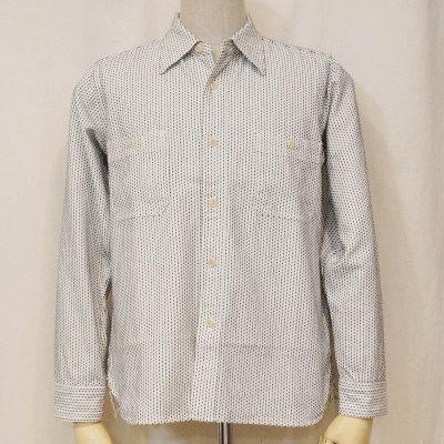 SSS15-L01-ホワイト-刺し子ワークシャツ15-L01-SSS15L01-SAMURAIJEANS-サムライジーンズシャツ【smtb-tk】【送料無料】【楽ギフ_包装】