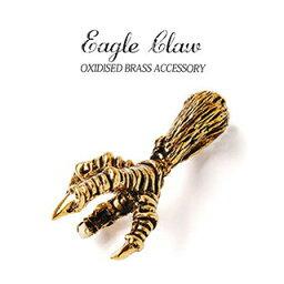 メール便なら送料無料! pe2029 ネイティブアクセサリー メンズ ペンダント ネイティブアメリカン イーグルクロウペンダント インディアン ネイティブ ゴールド イーグル クロウ 爪