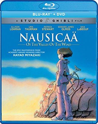 風の谷のナウシカブルーレイDVD2枚組ボックス宮崎駿ジブリ北米正規品
